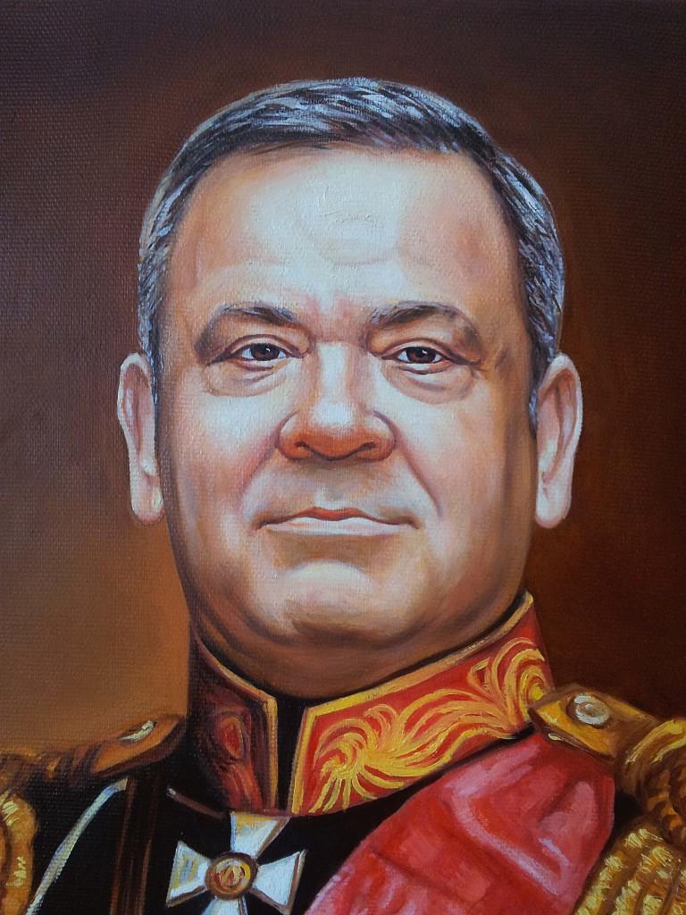 Портрет маслом на холсте в Вологде