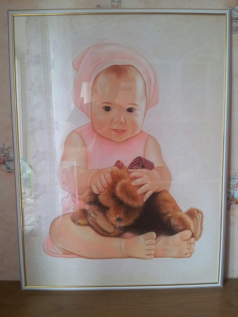 Портрет ребенка на заказ