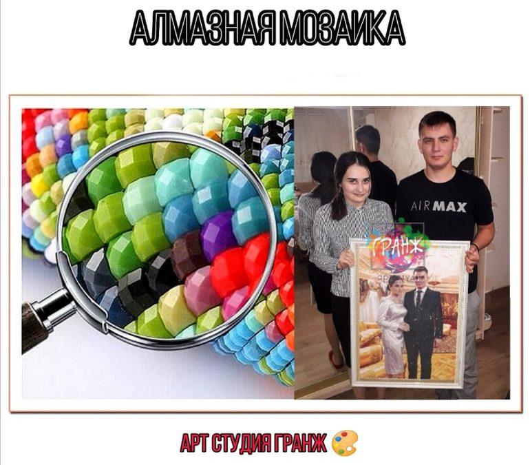 Алмазная мозаика по фото заказать в Вологде
